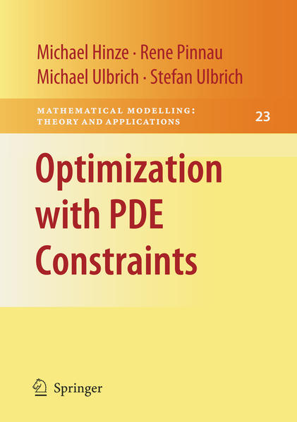 Optimization with PDE Constraints - Coverbild
