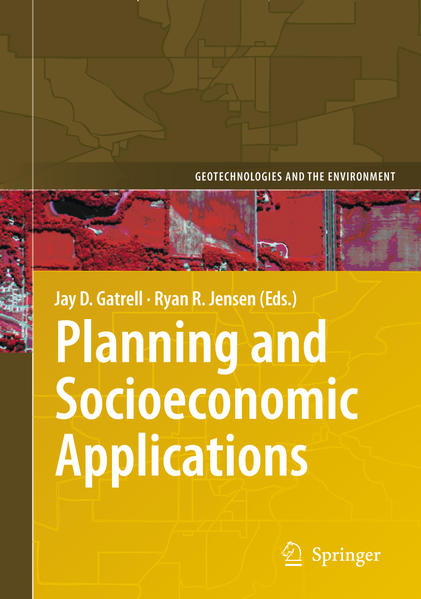 Planning and Socioeconomic Applications - Coverbild