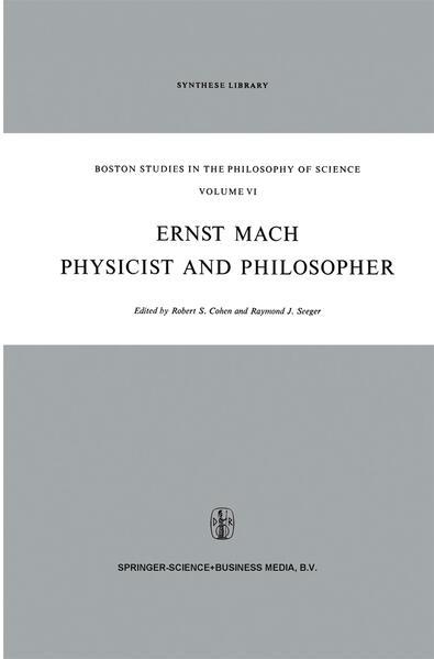 Ernst Mach: Physicist and Philosopher - Coverbild