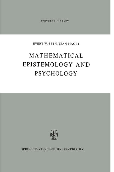 Mathematical Epistemology and Psychology - Coverbild