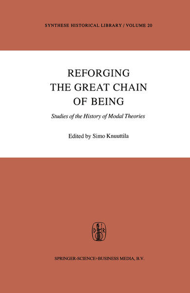Reforging the Great Chain of Being - Coverbild