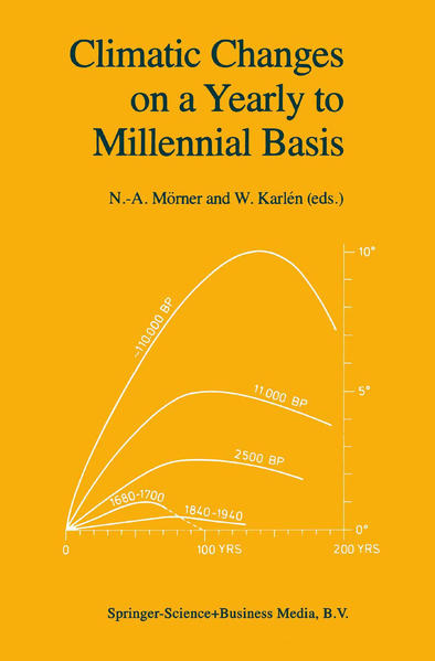 Climatic Changes on a Yearly to Millennial Basis - Coverbild