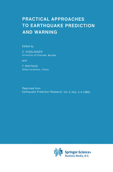 Practical Approaches to Earthquake Prediction and Warning - Coverbild