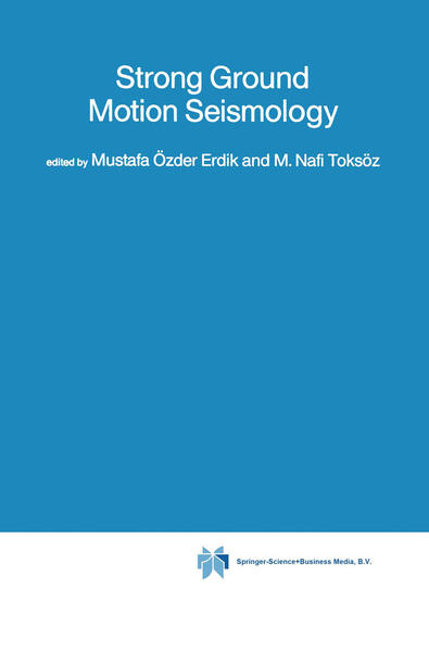 Strong Ground Motion Seismology - Coverbild