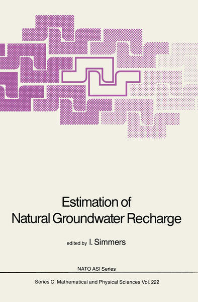 Estimation of Natural Groundwater Recharge - Coverbild