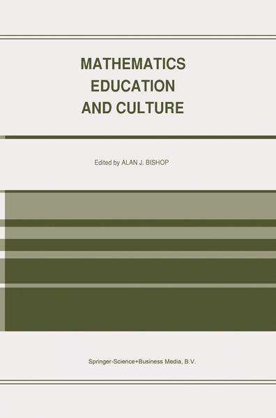 Mathematics Education and Culture - Coverbild