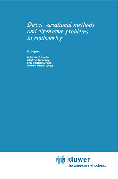 Direct Variational Methods and Eigenvalue Problems in Engineering - Coverbild