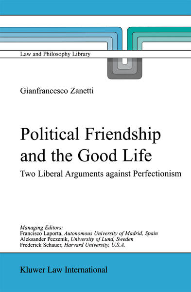 Political Friendship and the Good Life - Coverbild
