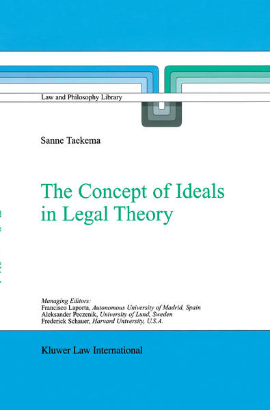 The Concept of Ideals in Legal Theory - Coverbild