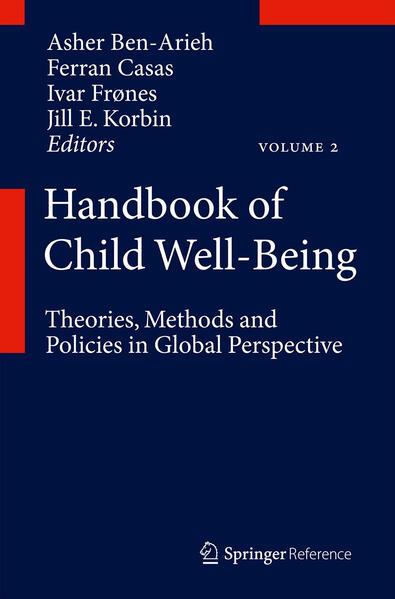 Handbook of Child Well-Being - Coverbild