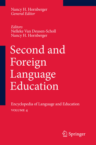 Second and Foreign Language Education - Coverbild