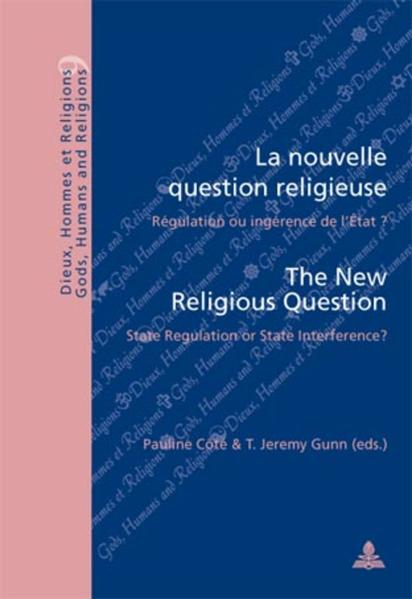 La nouvelle question religieuse / The New Religious Question - Coverbild