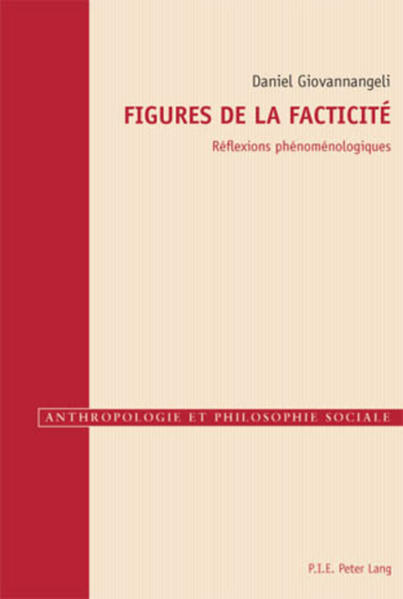 Figures de la facticité - Coverbild