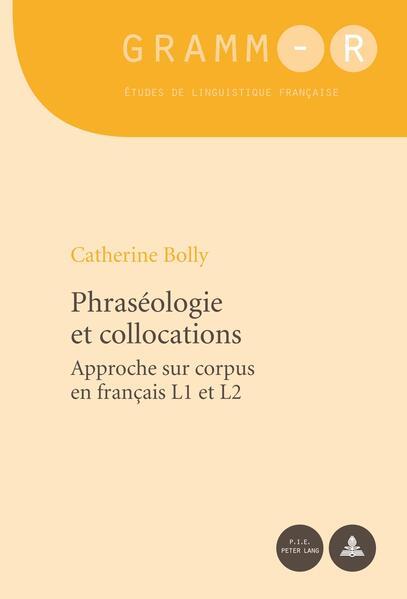 Phraséologie et collocations - Coverbild