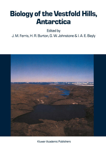 Biology of the Vestfold Hills, Antarctica - Coverbild