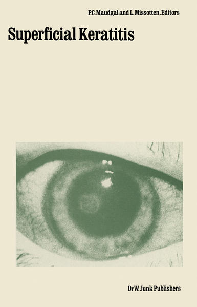 Superficial Keratitis - Coverbild