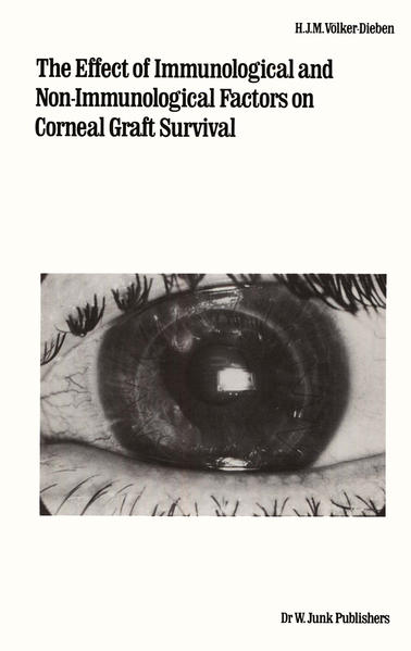 The Effect of Immunological and Non-immunological Factors on Corneal Graft Survival - Coverbild