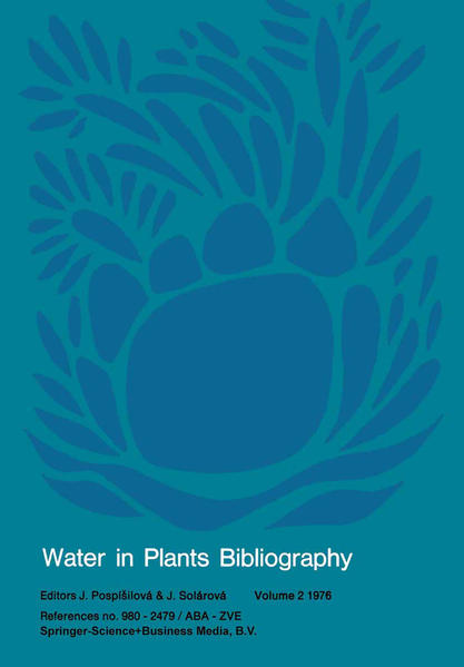 Water in Plants Bibliography, volume 2 1976 - Coverbild