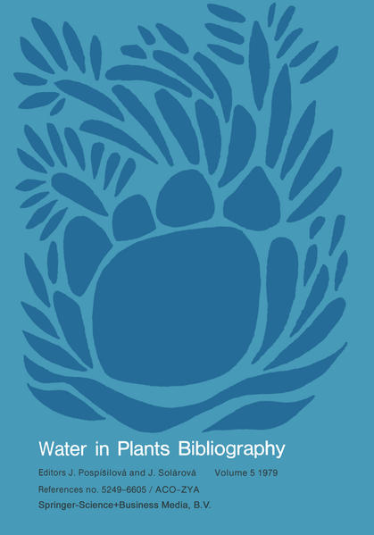 Water-in-Plants Bibliography, volume 5 1979 - Coverbild