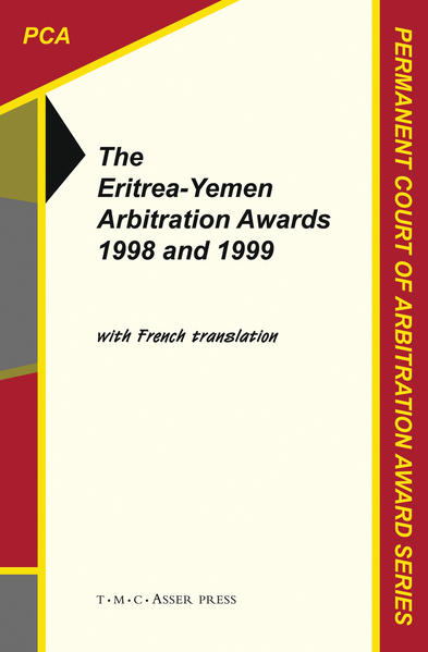 The Eritrea-Yemen Arbitration Awards 1998 and 1999 - Coverbild