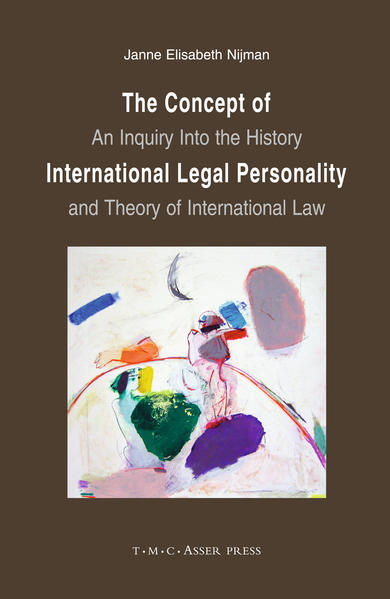 The Concept of International Legal Personality - Coverbild