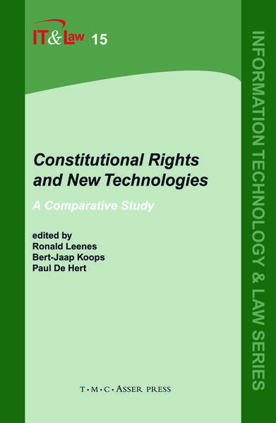 Constitutional Rights and New Technologies - Coverbild