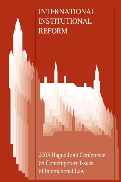 International Institutional Reform - Coverbild
