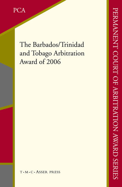 The Barbados/Trinidad and Tobago Arbitration Award of 2006 - Coverbild