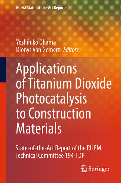 Application of Titanium Dioxide Photocatalysis to Construction Materials - Coverbild