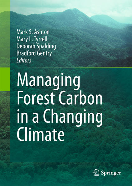 Managing Forest Carbon in a Changing Climate - Coverbild