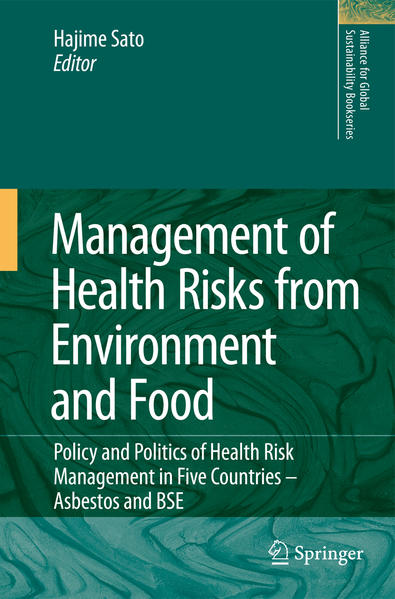 Management of Health Risks from Environment and Food - Coverbild