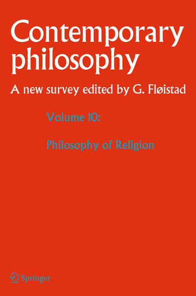Volume 10: Philosophy of Religion - Coverbild
