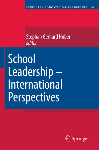 School Leadership - International Perspectives - Coverbild