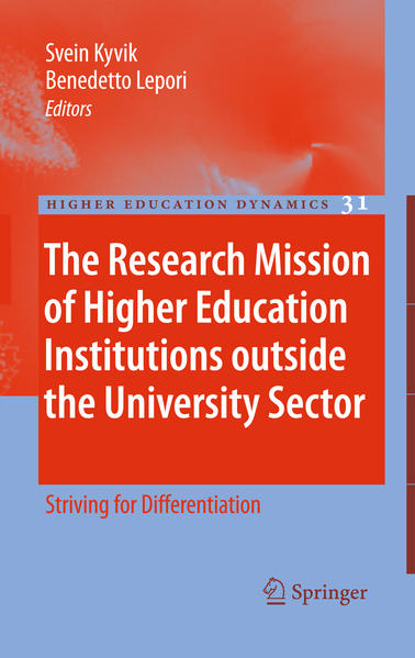 The Research Mission of Higher Education Institutions outside the University Sector - Coverbild