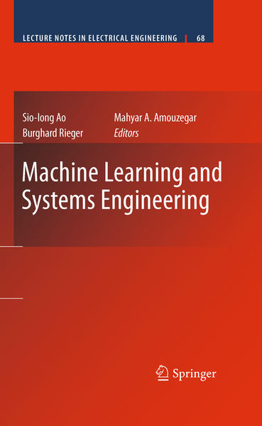 Machine Learning and Systems Engineering - Coverbild