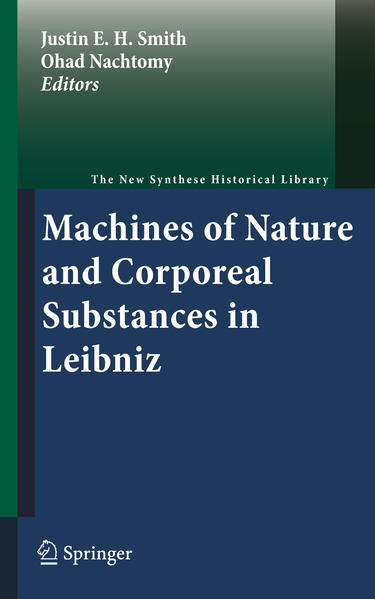 Machines of Nature and Corporeal Substances in Leibniz - Coverbild
