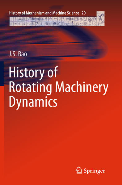 History of Rotating Machinery Dynamics - Coverbild