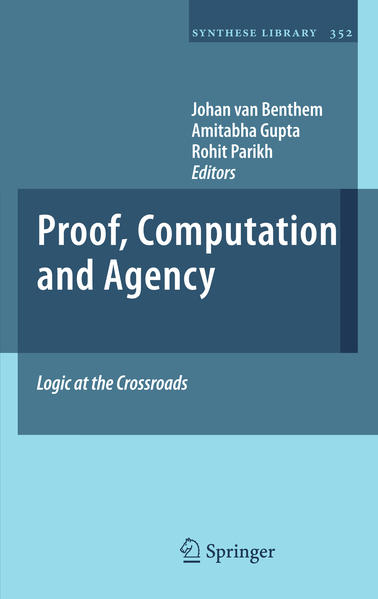 Proof, Computation and Agency - Coverbild