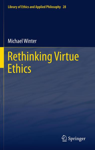 Rethinking Virtue Ethics - Coverbild
