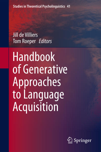 Handbook of Generative Approaches to Language Acquisition - Coverbild