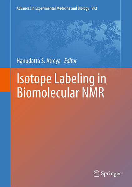 Isotope labeling in Biomolecular NMR - Coverbild
