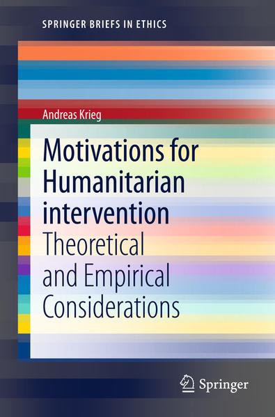 Motivations for Humanitarian intervention - Coverbild