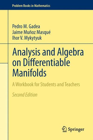 Analysis and Algebra on Differentiable Manifolds - Coverbild