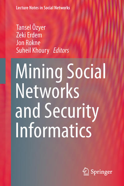 Mining Social Networks and Security Informatics - Coverbild