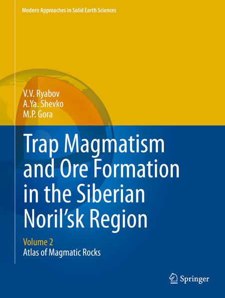 Trap Magmatism and Ore Formation in the Siberian Noril'sk Region - Coverbild