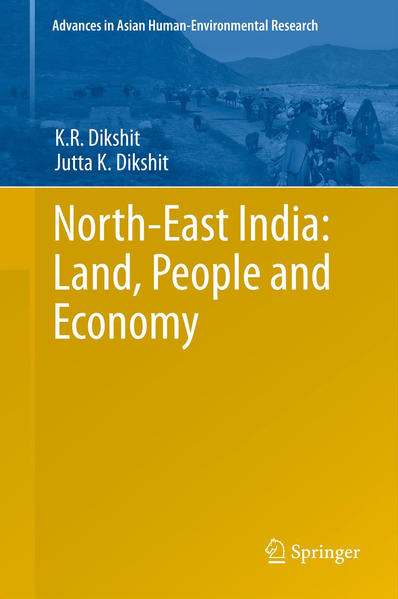 North-East India: Land, People and Economy - Coverbild