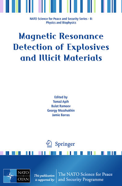 Magnetic Resonance Detection of Explosives and Illicit Materials - Coverbild