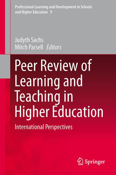 Peer Review of Learning and Teaching in Higher Education - Coverbild