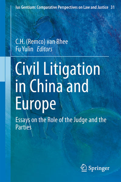 Civil Litigation in China and Europe - Coverbild