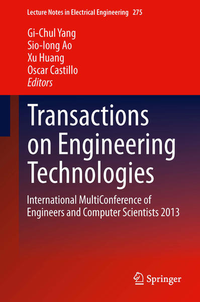 Transactions on Engineering Technologies - Coverbild